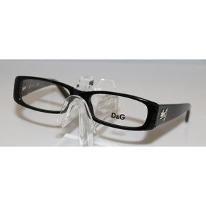 New Dolce & Gabbana Black Eyeglasses